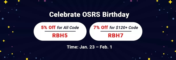 Professional Site RSorder to Gain 7% Off OSRS Gold for Sale for OSRS Birthday 2021