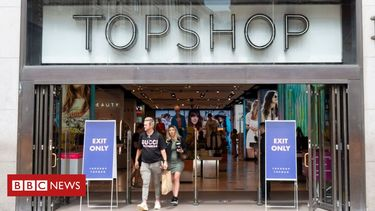 Topshop owner Arcadia on brink of collapse