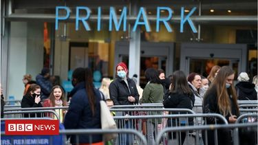 Shoppers rush back as High Streets reopen in England and Wales