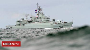China military drill as US envoy visits Taiwan