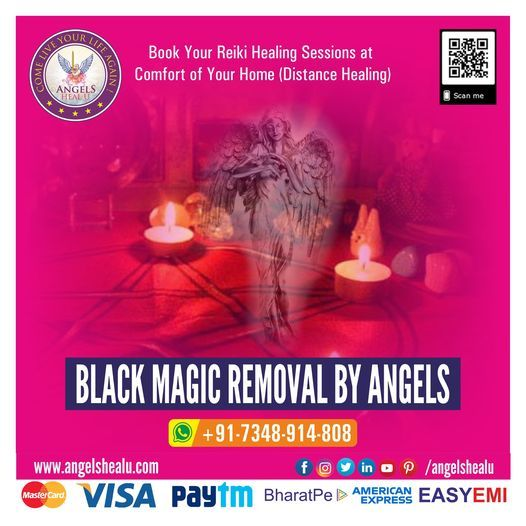 BLACK MAGIC REMOVAL BY ANGELS