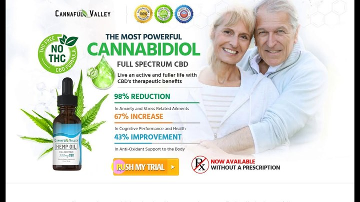 Wellness Formula Cannaful Valley CBD Oil!